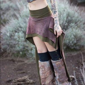 Hemp Handmade Bustle Skirt
